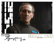 More details for star wars guy henry grand moff tarkin rogue one signed 8 x 10 photo