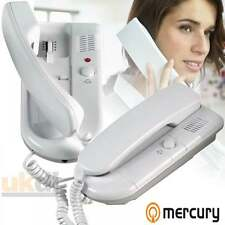 Mercury Blanc 6 VDC 2 Way Système Intercom Home Office plat mur de sécurité ou bureau