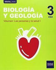 ^^(15).BIOLOGIA GEOLOGIA 3ºESO NACAR *MODULAR* (INICIA). ENVÍO URGENTE (ESPAÑA)