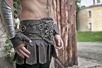 Medieval Steel Braсers - Medieval Knight Armor - Larp Hand Greaves /Guard 06