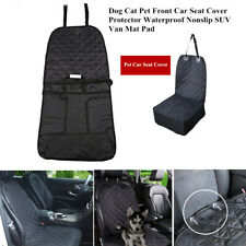 Dog Cat Pet Front Car Seat Cover Protect Waterproof Nonslip SUV Mat Pad Cushion