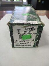 "Used D8187633 1 1/2"" X 1/2"" Hex Socket Head Shoulder Screws (QTY 21)"