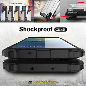 For Huawei P30 Pro P30 Lite Slim Hybrid Armor Shockproof Hard Back Case Cover