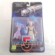 Delenn (Exclusive Premiere, 1997) Babylon 5 Action Figure, Gold Outfit, NIP