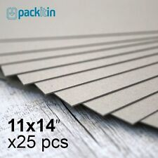 "11x14"" Backing Boards - 25 sheets 700gsm - chipboard boxboard cardboard recycled"