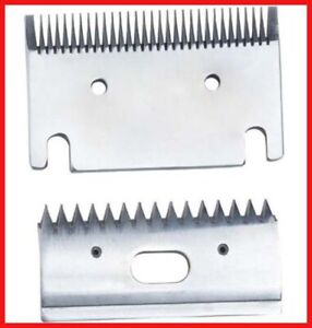 Replacement Heavy Duty Fine 1mm Horse Clipper Blades Fit Heiniger Liveryman