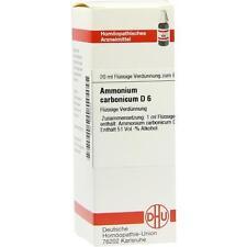 AMMONIUM CARBONICUM D 6 Dilution 20 ml PZN 2606422