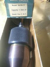 """Wahlstrom Keyless Drill Chuck, 28-94, 1/32"""" - 1/2"""", Made in USA"""