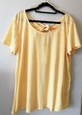 Sunny Yellow Top. Size 20.