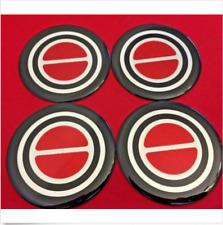 4pcs.1980-1996 FORD F150 BRONCO VAN Center Caps RED EMBLEM STICKERS BADGES LOGOS