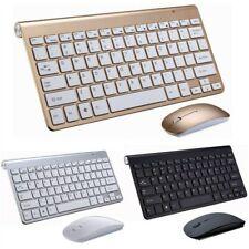 Clavier Multimédia  2.4G Wireless Keyboard Mouse Mini Multimedia Keyboard Mouse
