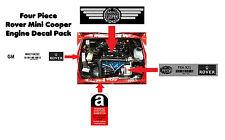 ROVER MINI COOPER 1.3 1.3i RSP SPORT SETTE Knightsbridge MINI 40 Sticker Pack