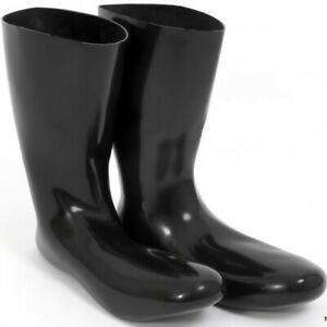 2. Wahl Latex Socken, anatomisch, schwarz, Size S, Gummi, Rubber, Sexy