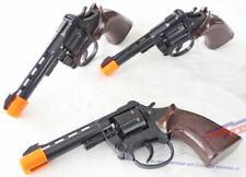 3x Toy .357 Revolver Cap Guns Set