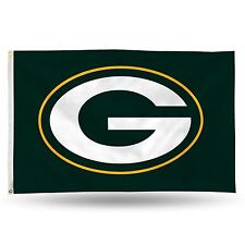 """Green Bay Packers NFL Banner Flag 3' x 5' (36"""" x 60"""") ~ NEW"""