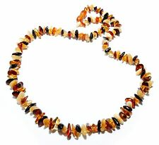 Genuine Baltic Amber Necklace Adult Mixed 55 - 57 cm Jewelry Women