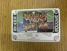 1977/2008 Soccer Stars Series 2: Card No.30) Atletico Madrid - Taken From The Tr