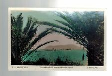 1932 Algiers Algeria to Scotland Paqubot Real Picture Postcard Cover