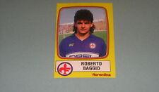 FIGURINE STICKERS ROOKIE ALBUM CALCIATORI PANINI 1985/86 FIORENTINA BAGGIO -MAX