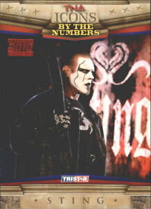 2010 TriStar TNA Icons Red #72 Sting /5