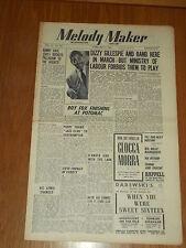 MELODY MAKER 1948 #757 FEB 7 JAZZ SWING DIZZY GILLESPIE DANNY KAYE ROY FOX LEWIS