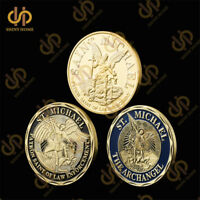 American Prayer Saint Michael The Archangel Police Challenge Set Coin Collection