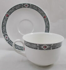 Villeroy & and Boch RUBINO large breakfast cup and saucer