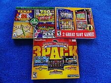 NEW 3X LOT PC Slot Quest Slot Adventure,REEL DEAL SLOTS,& GAMING COLLECTION