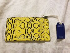 Brand New with Tags Reed Solar Yellow Viper Wallet