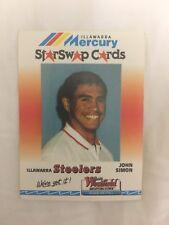 JOHN SIMON 90s Illawarra Steelers Mercury Star Swap Westfield Nrl Card