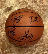 2018-19 GOLDEN STATE  WARRIORS TEAM SIGNED AUTOGRAPHED  BASKETBALL CURRY w/COA