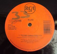 """N-JOI - Techno Gangsters 1991 RAVE CLASSIC - USA RCA Deconstruction 12"""""""