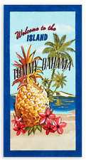 NEW! Tommy Bahama Kokomo Island Floral Pineapple Relax Beach Towel - 35