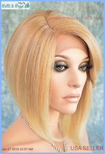 SWISS LACE FRONT DEEP LACE PART  BOB HEAT FRIENDLY WIG COLOR T27.613 SEXY 1273