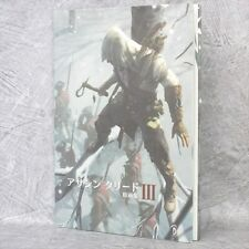 ASSASIN'S CREED III 3 Gengashu Art Material Illustration Book 022*