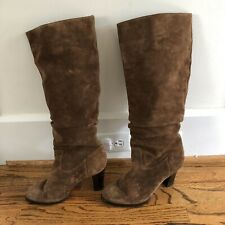 Banana Republic brown suede boots sz 8.5