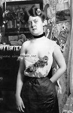 1890 PHOTO COLORADO PROSTITUTE VICTORIAN BACKGROUND CRIPPLE CREEK 1011