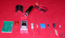 300mW+650nm Red High Power Laser Diode Module Kit with Glass lens & Heatsink