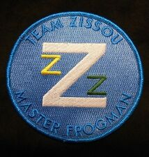 THE LIFE AQUATIC TEAM ZISSOU LOGO EMBROIDERED COSTUME IRON PATCH MADE IN THE USA
