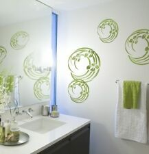 Iris Swirl Stencil - MEDIUM - Reusable Stencil Designs for Easy DIY Home Decor