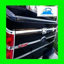 09 10 11 12 13 14 FORD F150 F 150 CHROME TAILGATE TRIM MOLDINGS 6PC WRNTY
