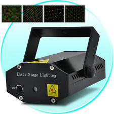Mini Laser Light Effects Projector with Stroboflash for Stage, Party and Disco