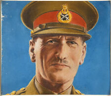 General Claude Auchinleck British Army 5x5 inch Reprint Portrait World War 2