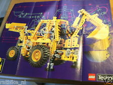 LEGO BROCHURE FLYER CATALOG TOYS TECHNIC 1989 DUTCH 16 PAGES 032
