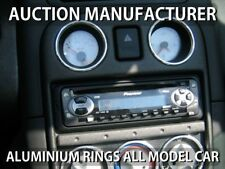 MG MGF and MG TF 2001-2005 Chrome Rings for Oil & Clock Trim Surrounds Rings x2