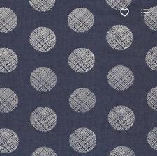 Art Gallery Fabric Denim Studio Pointelle Rings 1/2 yard