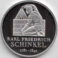 10 Euro Gedenkmünze Karl Friedrich Schinkel 2006 Polierte Platte Silber 925/-