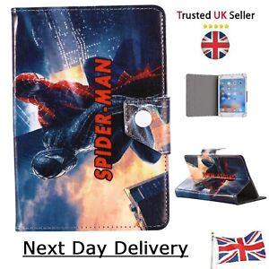 """7 """" 8 9.7 10.1 inch Tablet Case - Superhero Hero Tab Cover - Spider man in Venom"""