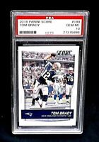 2016 Panini Score #189 TOM BRADY PSA 10 Gem Mint