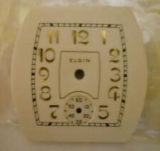 3/0s Elgin Wristwatch Dial, Nos